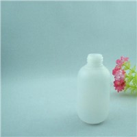 Plastic HDPE container bottle flask 50ml 100ml for cosmetic conditioner hand scrub cream