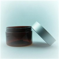 Plastic PP jar pot container 100ml 180ml 200ml 250ml for cosmetic face care  conditioner cream scrub