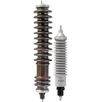 Porcelain Housed Lighting Arrester,Ceramic Metal Oxide Surge Arrester,Ceramic LA
