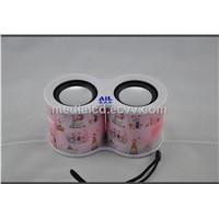 Portable binocular Speaker USB Music speaker