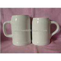 Promotional Ceramic Beer Mug, Custom Design Accepted, SA8000/SMETA Sedex/BRC/BSCI/SGP Audit Factory