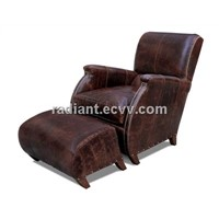 R-1501 American style classical chair with pedal