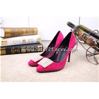 Replica dress shoes brand name women fashion shoes with top quality