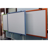Riotouch 10 finger touch IR interactive whiteboard with ABS and plastic frame
