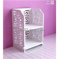 Shoe rack  white color 2-5 layers