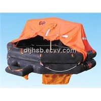 Solas CCS /EC approved throwing type inflatable life raft