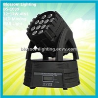 Stage Colour 12*12W 4IN1 LED Moving Head Par Light (BS-1039)