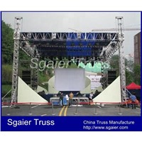 Stage truss stage roof structure Stage Lighting Truss