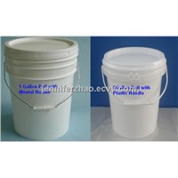 5 Gallon Plastic Bucket  ,Chemicals Bucket,Oil Paint Bucket