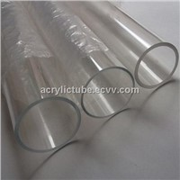 THZ Plastic Acrylic Plexiglass Clear Round Tube OD50x2x1000mm Can Cut Any Size