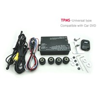 TPMS (Tire Pressure Monitoring System)-Compatible with Car DVD player(Universal type)