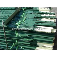 T Bar Fence Post Paint Green T Post Metal T post