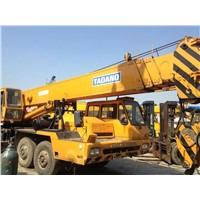 USED TADANO 50T MOBILE TRUCK CRANE 4 BOOM NISSAN CHASSIS