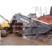 Used Crawler Excvavator VOLVO EC210BLC