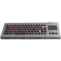 Desk-top Military Keyboards With Sealed Touchpad