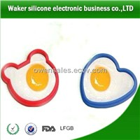Various shape silicone fried rubber egg ring non-stick cookware