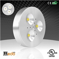 WD-300A 12V 3W UL cUL LED Puck Light for Under Cabinet Lighting