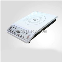 White Body Single Phase Electric Induction Cooker