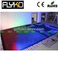 Wholesale led lighted fabric curtains