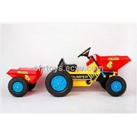 children ride on car toy mini dumper with trailer