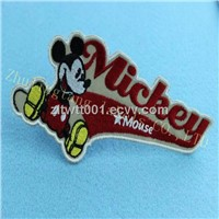 happy and cute embroidery patches&labels for kid's clothing