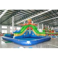 inflatable water slide Inflatable Pool Slides For Inground Pools