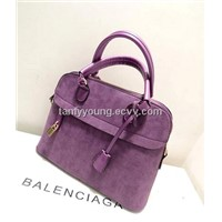 new 2014 Women's handbag scrub handbag shell bag fashion small lock bag women messenger bag