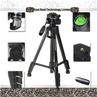 portable ,light and stable camera tripod with monopod