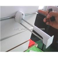 slatwall hook, pegboard display hook, security display hook