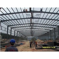 steel structure building/steel frame warehouse