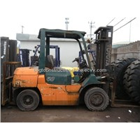 used toyota 4T forklift