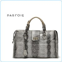 women fashion handbag snake material laptop bag