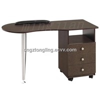 nail Salon Nail Table wooden manicure table