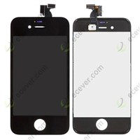 LCD Display Touch Screen Digitizer Assembly Black for iPhone 4S