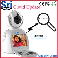 Sricam SP003 Home Intelligent Wifi P2P Wireless HD Pan Tilt Baby Monitor Camera Recorder