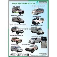 Emergency Ambulances- Paramed International FZCO