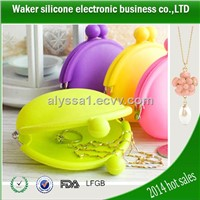 beautiful jelly coin bag