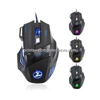 2400 DPI 6D buttons VP-X8 mouse optical wired gaming mouse USB wired Professional game mice