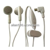 Cellular phone handsfree headset