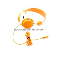 Gifts Colorful Logo Printing Computer Headphone for Lady