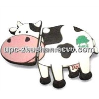 Hot Custom Cow Cartoon USB Flash Memory Disk