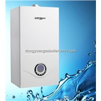 LCD display gas boiler for heating and hot water