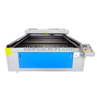 NC-1620 High Quality big size large Laser Cutting Machine for Cloth Garment with tube chiller