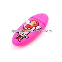 PVC Waterproof USB Flash Drive