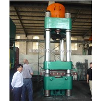 Solid tyre vulcanizing press/Solid tyre making machine