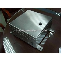 Stainless steel switch power panel box for power supply