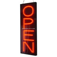 Vertical Led Open Signs