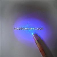 Wholesale Promotional invisible ink pen with uv light ,secret message pen,UV pen.