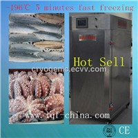 100kg/hour cabinet liquid nitrogen quick freezer