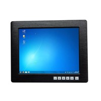"12.1"" touch screen LCD industrial monitor"